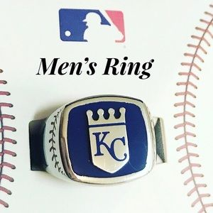 Kansas City Royals Men's Stainless Steel Ring